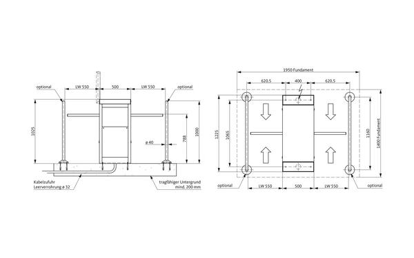 GU A-9003010_na00 Produkt-Zeichnung