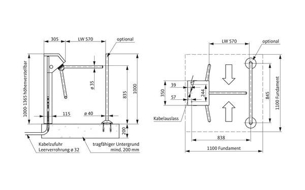 GU A-9003050_na00 Produkt-Zeichnung