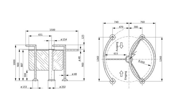 GU A-9003070_na00 Produkt-Zeichnung