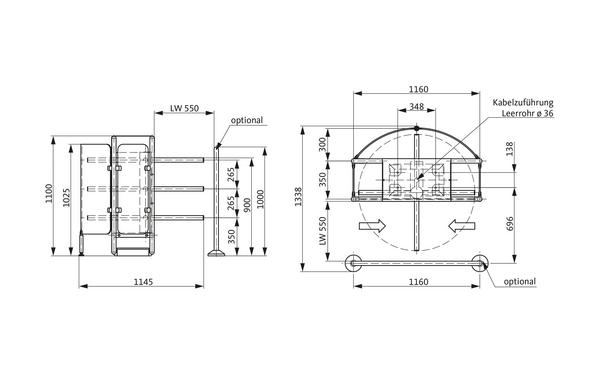 GU A-9003080_na00 Produkt-Zeichnung