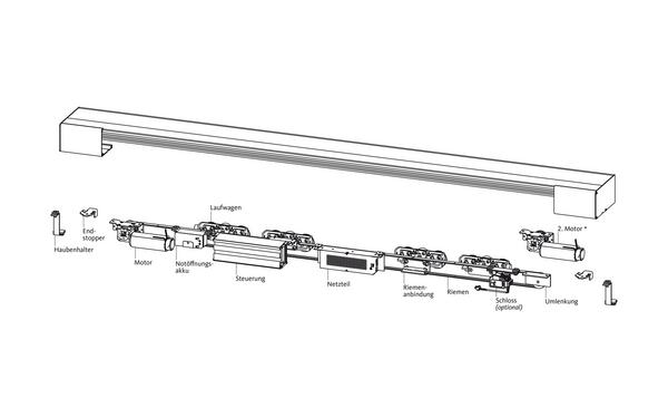 GU compactMaster_Komponenten_DEU Produkt-Zeichnung