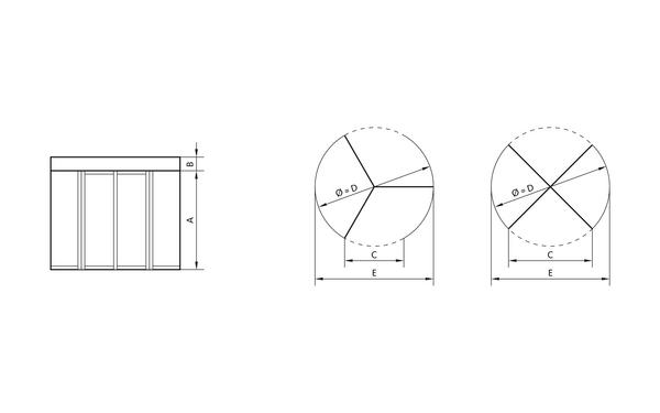 GU GRA_Ansichten Produkt-Zeichnung