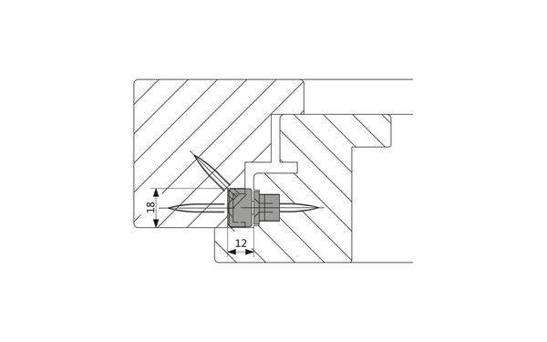 GU-Sicherheitsschere EURO-SOLID Einbau_EURO-SOLID_Holz_8z5