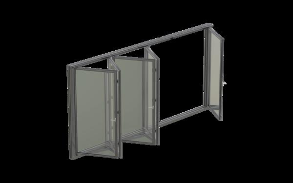 GU 3D_SchiebeFalt_Metall_01_8z5 Produkt-Foto
