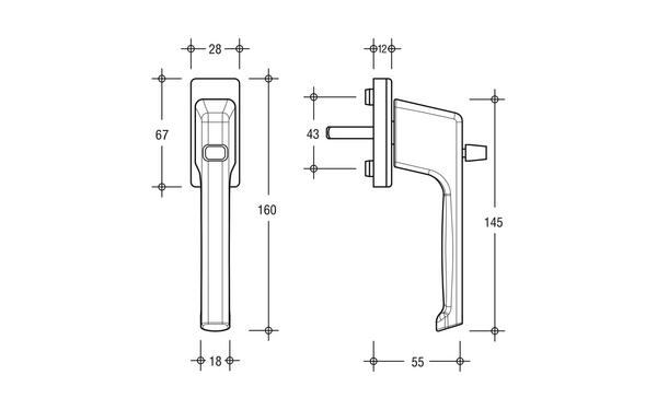 GU 6-28096-00-0-X_na00 Produkt-Zeichnung