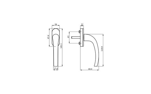 GU 6-32319-33-0-X_na00 Produkt-Zeichnung