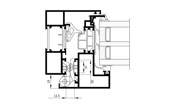 GU Dreh_Schnitt Produkt-Zeichnung