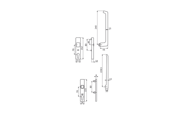 GU K-12919-00-0-X_na00 Produkt-Zeichnung