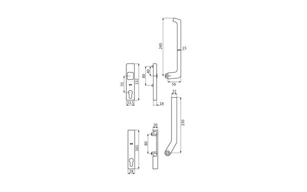GU K-13167-00-0-X_na00 Produkt-Zeichnung