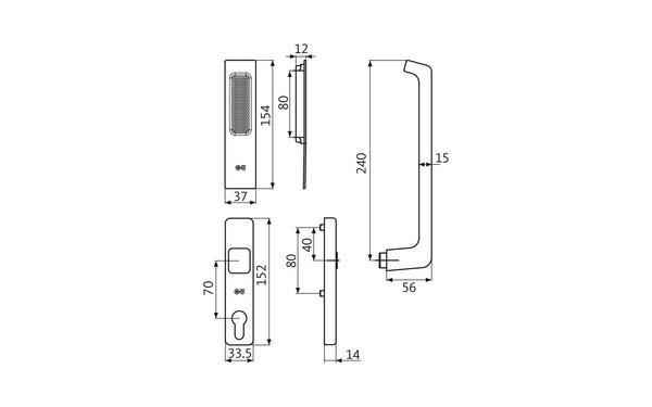GU K-13266-00-0-X_na00 Produkt-Zeichnung