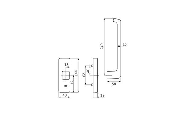 GU K-14712-00-R-X_na00 Produkt-Zeichnung