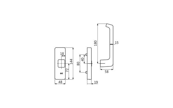 GU K-15328-00-R-X_na00 Produkt-Zeichnung