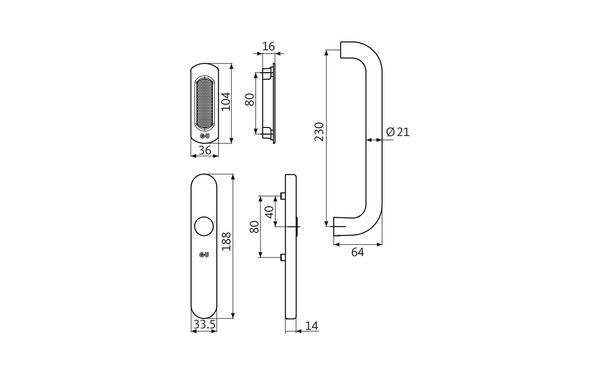 GU K-16796-00-0-X_na00 Produkt-Zeichnung