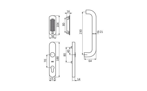GU K-16797-00-0-X_na00 Produkt-Zeichnung