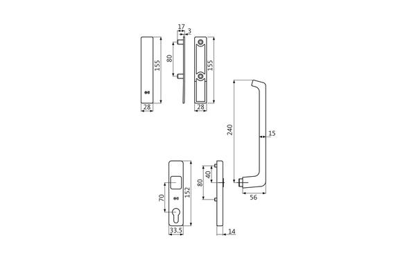 GU K-16925-00-0-X_na00 Produkt-Zeichnung