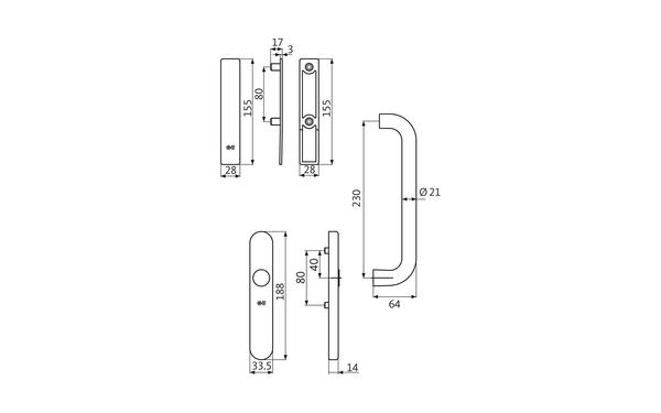 GU K-16927-00-0-X_na00 Produkt-Zeichnung