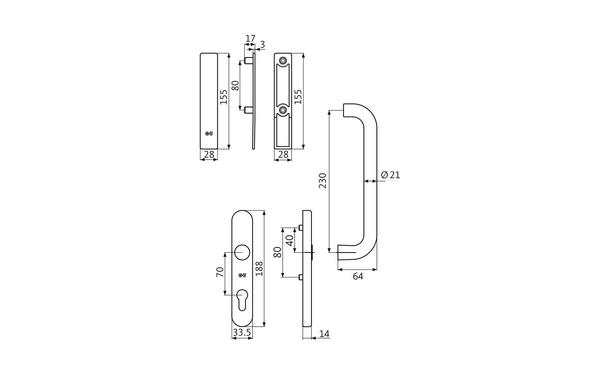 GU K-16928-00-0-X_na00 Produkt-Zeichnung