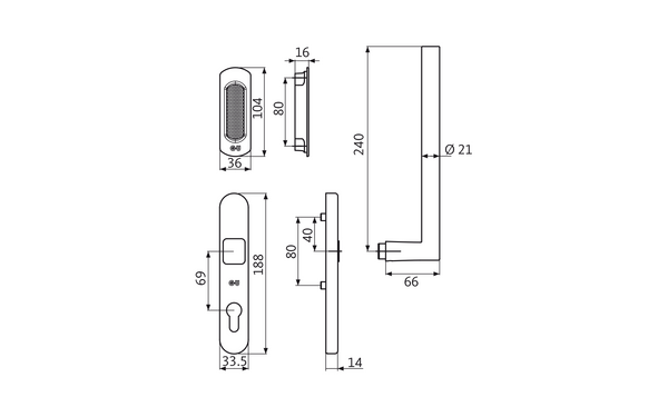 GU K-17016-00-0-X_na00 Produkt-Zeichnung
