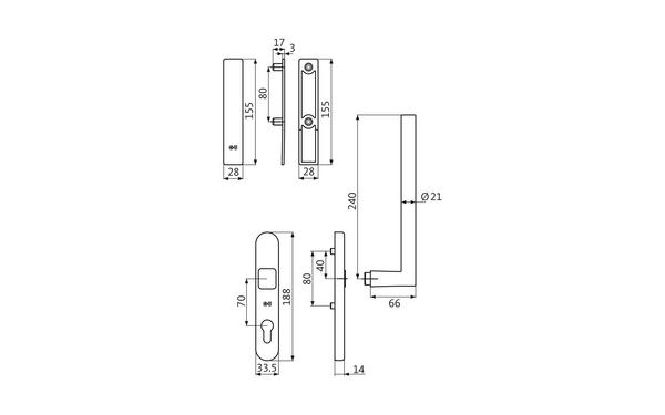 GU K-17049-00-0-X_na00 Produkt-Zeichnung