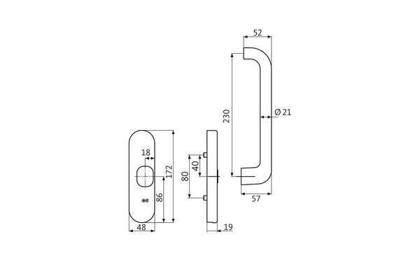 GU K-17246-00-R-X_na00 Produkt-Zeichnung