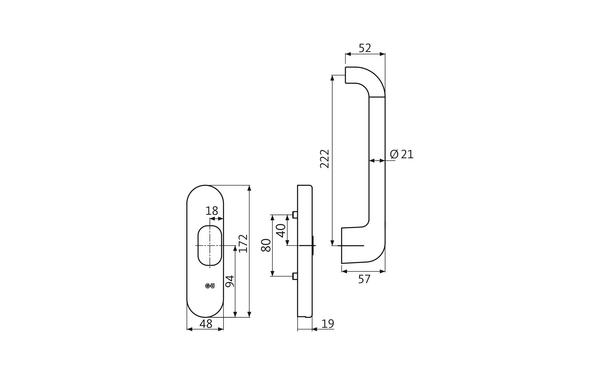 GU K-17247-00-R-X_na00 Produkt-Zeichnung