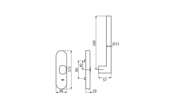 GU K-17253-00-R-X_na00 Produkt-Zeichnung