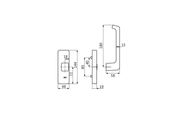 GU K-17460-00-R-X_na00 Produkt-Zeichnung
