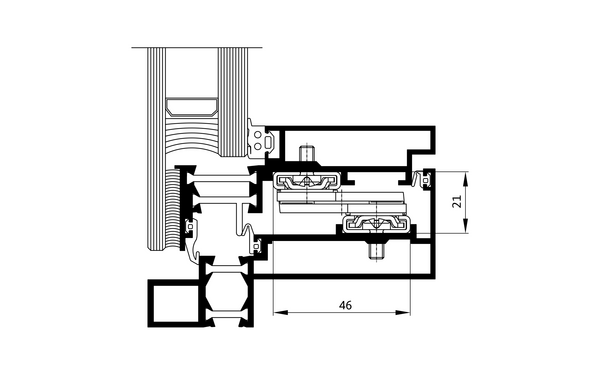 GU PAF_Schnitt Produkt-Zeichnung