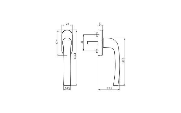 GU U-71970-29-0-X_na00 Produkt-Zeichnung