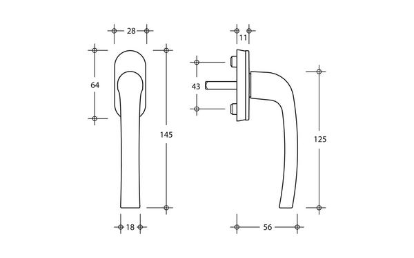 GU U-71984-13-0-X_na00 Produkt-Zeichnung
