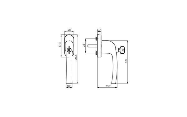 GU U-71987-29-0-X_na00 Produkt-Zeichnung
