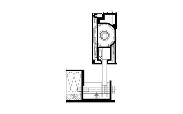 GU Unterföhring_Schnitt Produkt-Zeichnung