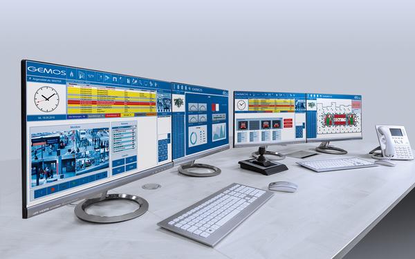 ela-soft GEMOS Monitoring-Arbeitsplatz Produkt-Foto
