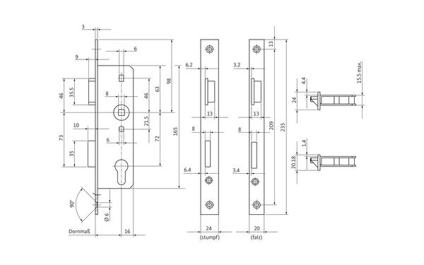 BKS 00071001_na00 Produkt-Zeichnung