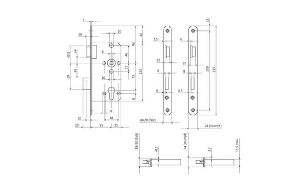 BKS 04150031_na00 Produkt-Zeichnung