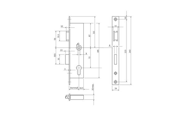 BKS 12050005_na00 Produkt-Zeichnung