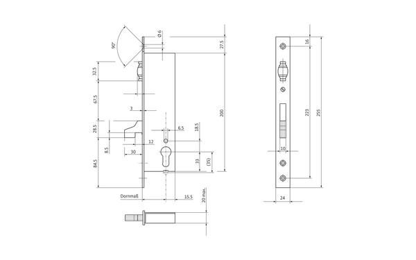 BKS 14260009_na00 Produkt-Zeichnung
