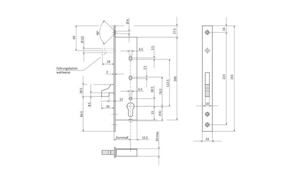 BKS 14270005_na00 Produkt-Zeichnung