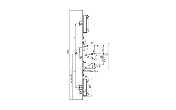 BKS 6-39014-06-L-X_na00 Produkt-Zeichnung
