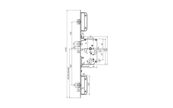 BKS 6-39079-01-L-X_na00 Produkt-Zeichnung