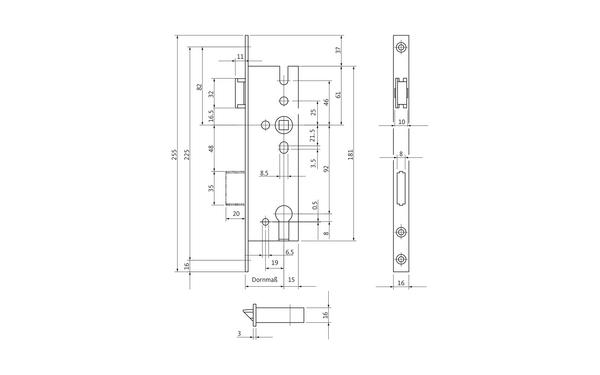 BKS B 1300 0001_na00 Produkt-Zeichnung