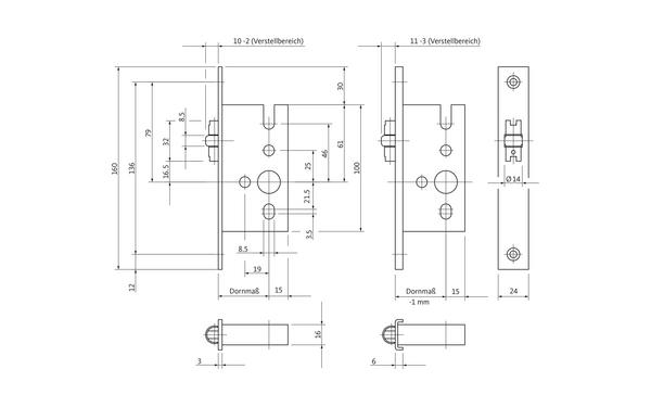 BKS B 1305 0001_na00 Produkt-Zeichnung