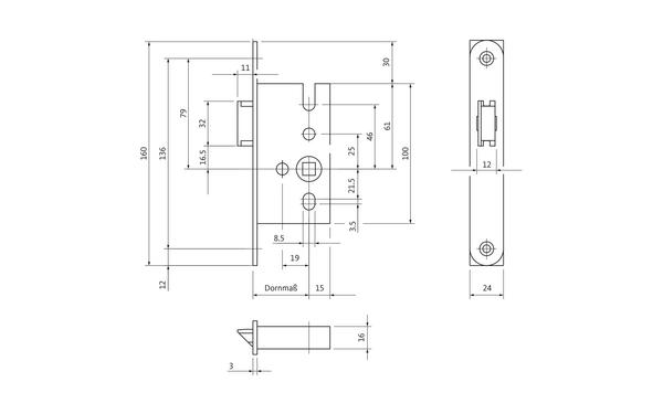 BKS B 1307 0147_na00 Produkt-Zeichnung