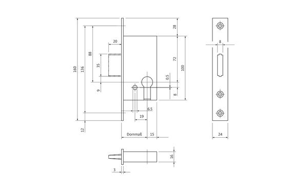 BKS B 1308 0197_na00 Produkt-Zeichnung