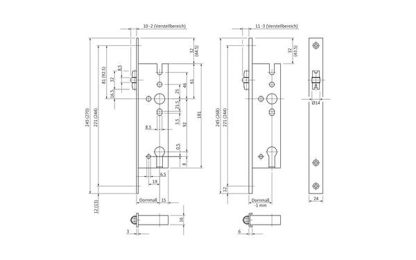 BKS B 1325 0001_na00 Produkt-Zeichnung