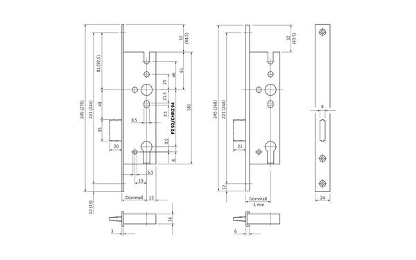 BKS B 1328 0001_na00 Produkt-Zeichnung