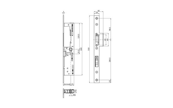 BKS B 1793 6021_na00 Produkt-Zeichnung
