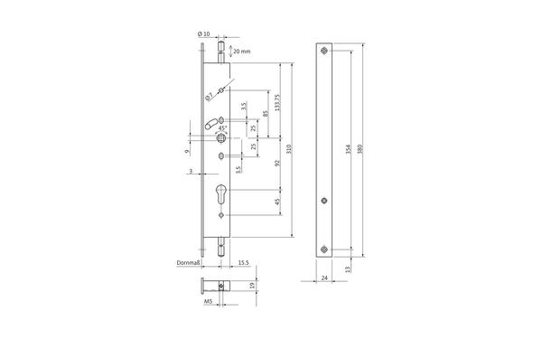 BKS B 1794 0031_na00 Produkt-Zeichnung