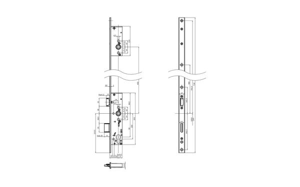 BKS B-18400-03-U-X_na00 Produkt-Zeichnung