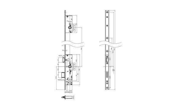 BKS B-18430-03-U-X_na00 Produkt-Zeichnung